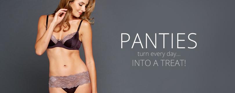 Silk & Lace Panties, Thongs, Luxury Lingerie