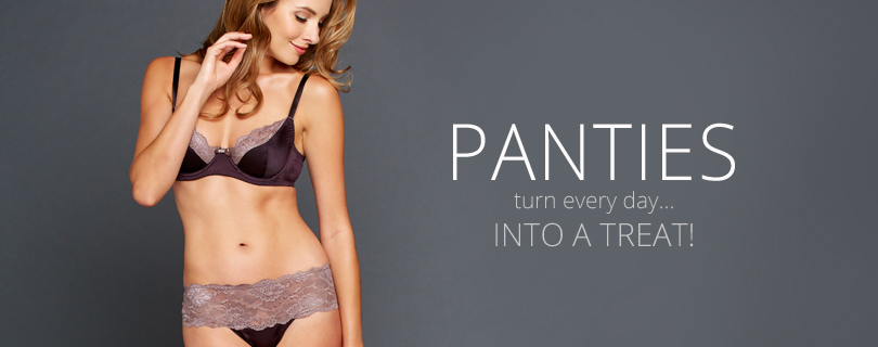 Women's Panties: Sexy Silk and Lace Designer Panties, Thongs